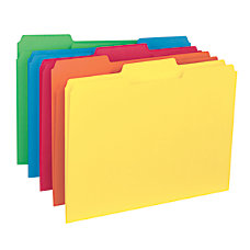 Smead Color Interior Folders 13 Cut