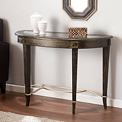 Southern Enterprises Cheswick Console Table Crescent