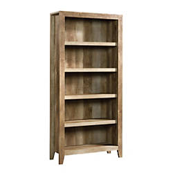 Sauder Dakota Pass Bookcase 5 Shelf