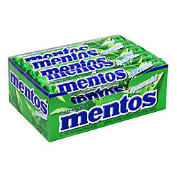Mentos Chewy Mint Spearmint Candy 132