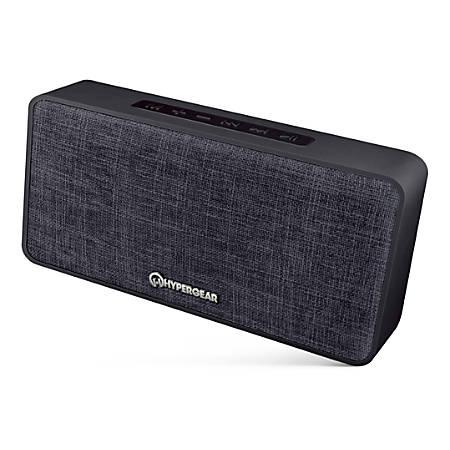 HyperGear Fabrix Wireless Speaker, Black, 14296