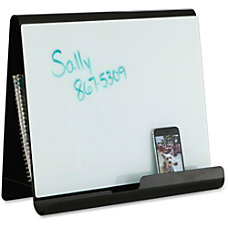 Safco Wave Whiteboard Holder White Steel