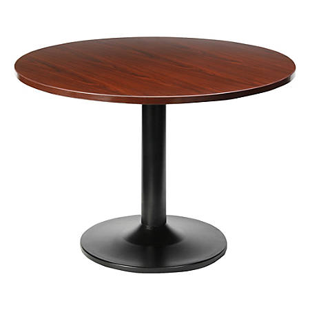 "Lorell® Essentials Round Table Top, 48""D, Mahogany"