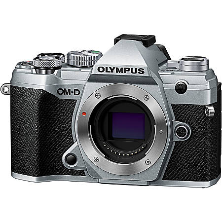 "Olympus OM-D E-M5 Mark III 20.4 Megapixel Mirrorless Camera Body Only - Silver - 3"" Touchscreen LCD - 5184 x 3888 Image - 4096 x 2160 Video - HD Movie Mode - Wireless LAN"