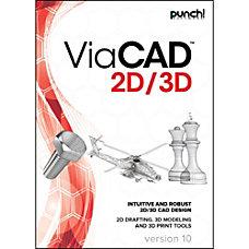 Punch ViaCAD 2D3D v10 for Windows