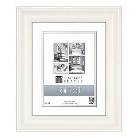 """Timeless Frames® Lauren Portrait Frame, 8"""" x 10"""", White"""