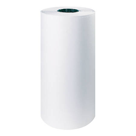 "Office Depot® Brand White Butcher Paper Roll, 40 Lb., 18"" x 1,000'"