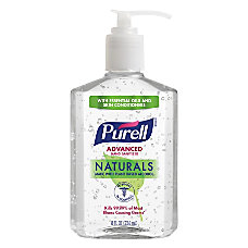 Purell Advanced Naturals Hand Sanitizer Gel