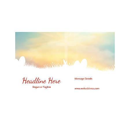 Custom Poster, Horizontal, Easter Sky