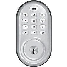 Yale Assure Lock Push Button Deadbolt