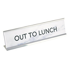 Office Depot Brand Out To Lunch
