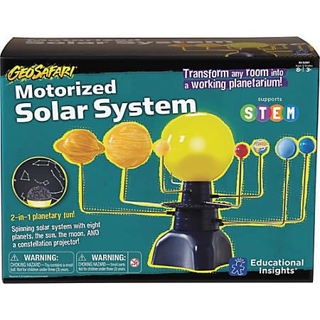 Educational Insights GeoSafari Motorized Solar System - Theme/Subject: Learning - Skill Learning: Planets, Solar System